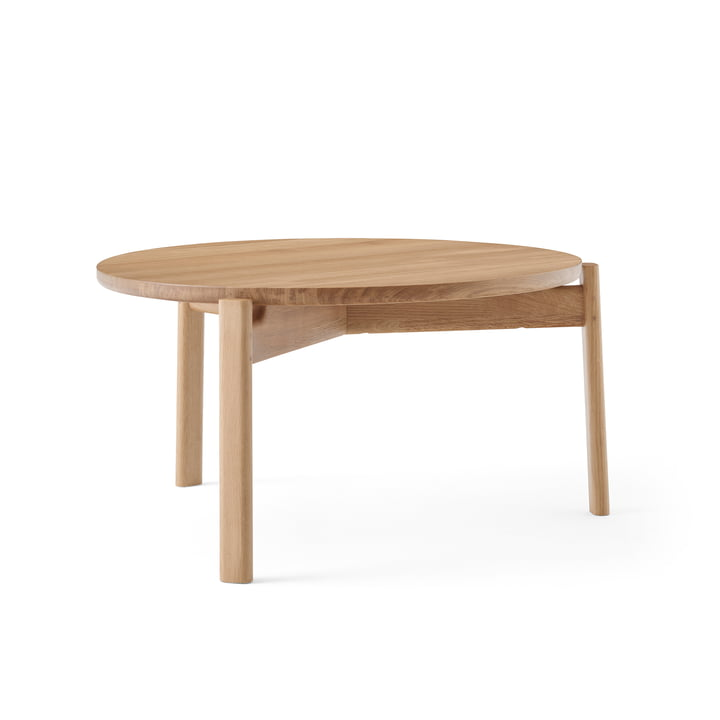 The Passage Lounge table from Menu in natural oak, Ø 70 cm