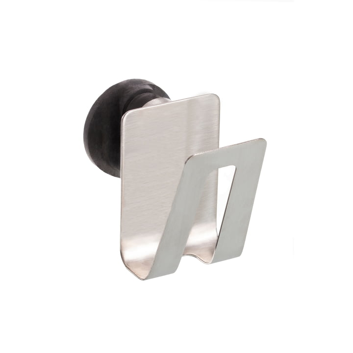 The magnetic sponge holder from Happy Sinks by Magisso in stainless steel