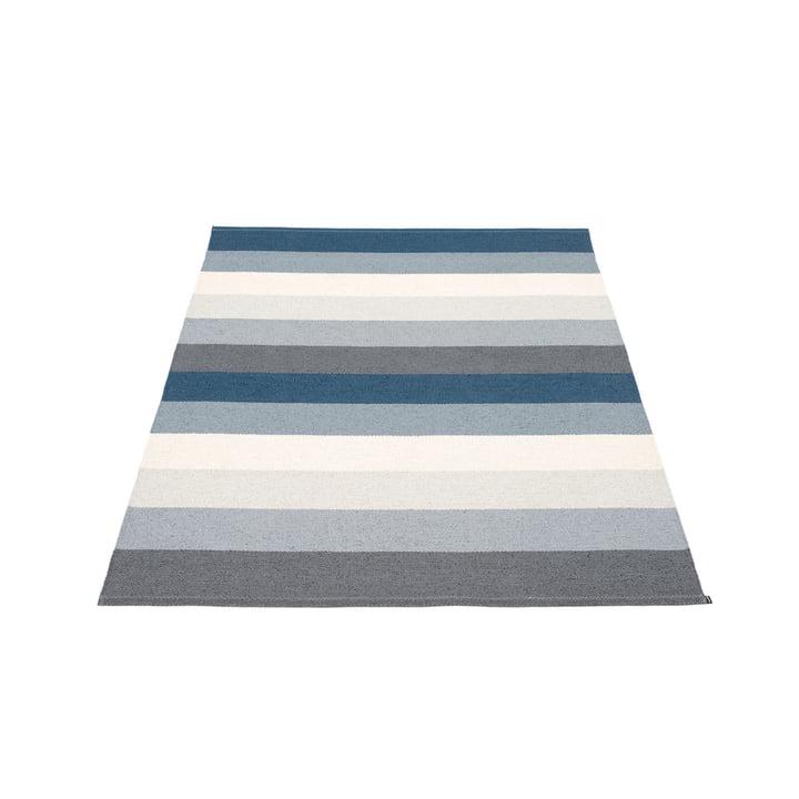 Molly Carpet, 140 x 200 cm, ocean grey by Pappelina