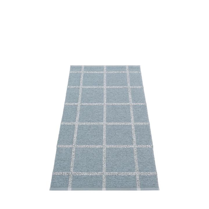 Ada Carpet, 70 x 150 cm, storm by Pappelina