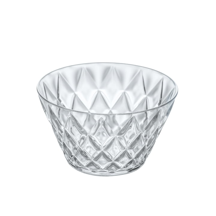 The CRYSTAL S serving bowl from Koziol , 0.5 l, crystal clear