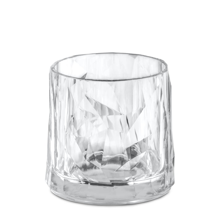 The CLUB NO. 2 Superglas from Koziol , 0.25 l, crystal clear