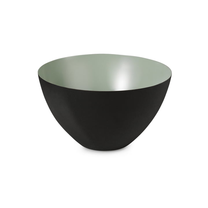 The Krenit Bowl from Normann Copenhagen , 14 x Ø 25 cm, dusty green