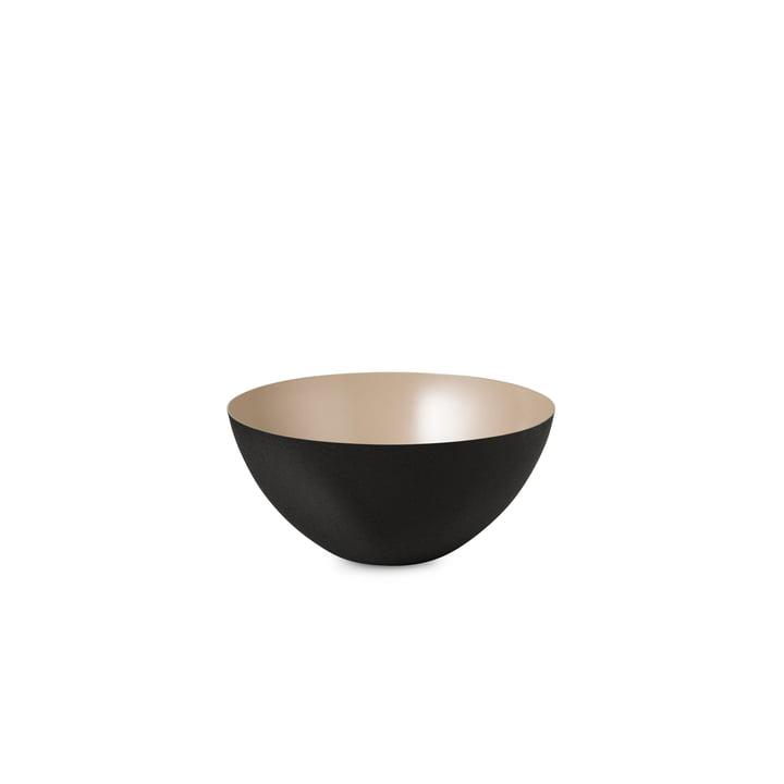 The Krenit Bowl from Normann Copenhagen in sand, 5,9 x Ø 12,5 cm