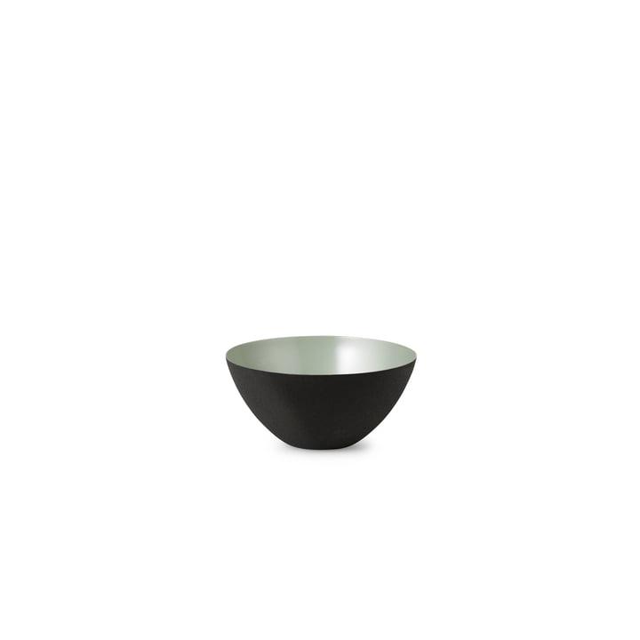 The Krenit Bowl from Normann Copenhagen in dusty green, 4,1 x Ø 8,4 cm