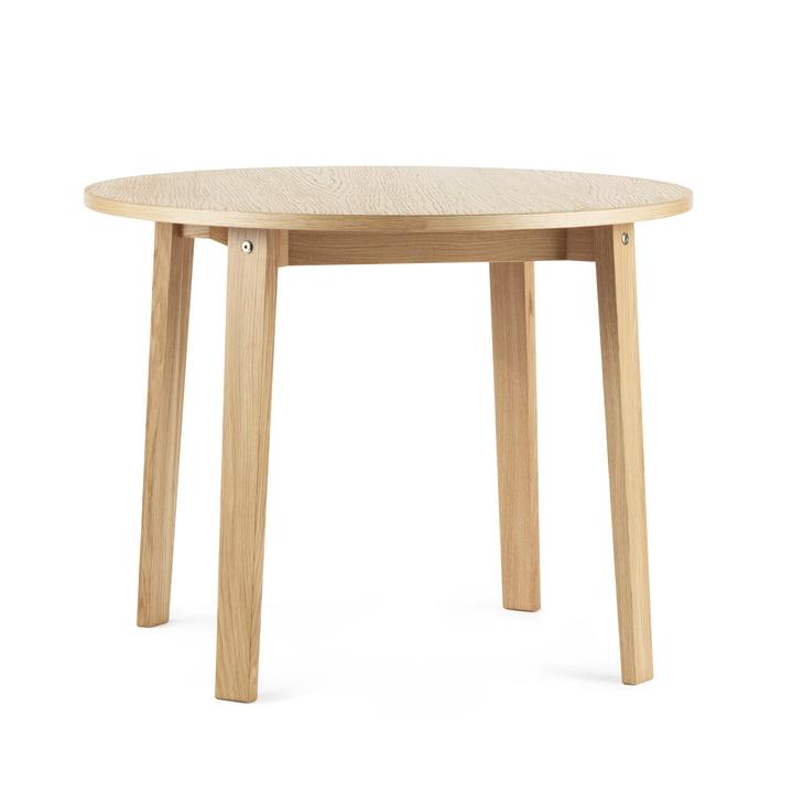 The Slice dining table Vol. 2 from Normann Copenhagen , Ø 95 cm, oak