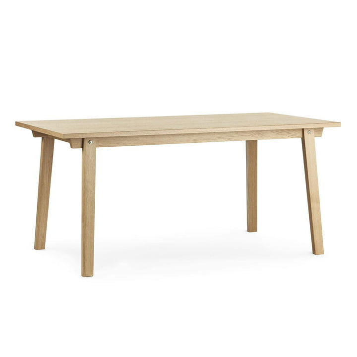 The Slice dining table Vol. 2 from Normann Copenhagen , 84 x 160 cm, oak