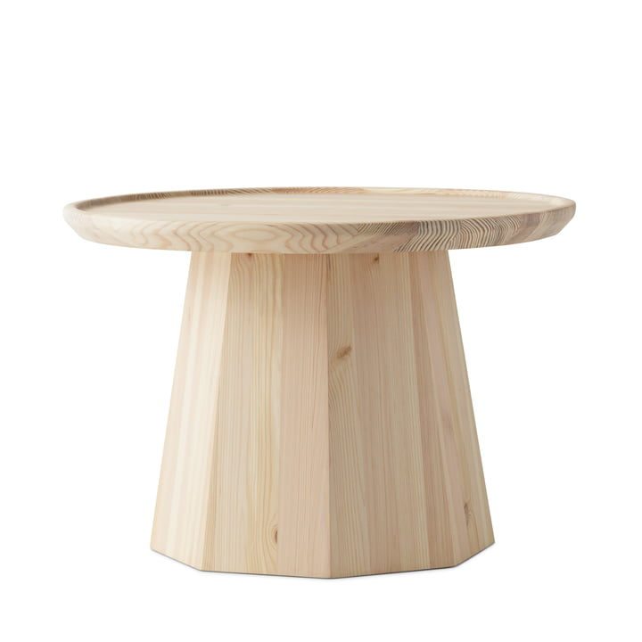 The Pine side table from Normann Copenhagen , Ø 65 x H 44,6 cm, nature