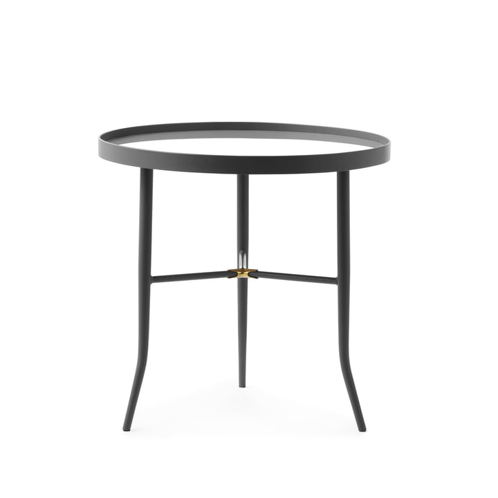 The Lug side table from Normann Copenhagen , Ø 50 cm, grey
