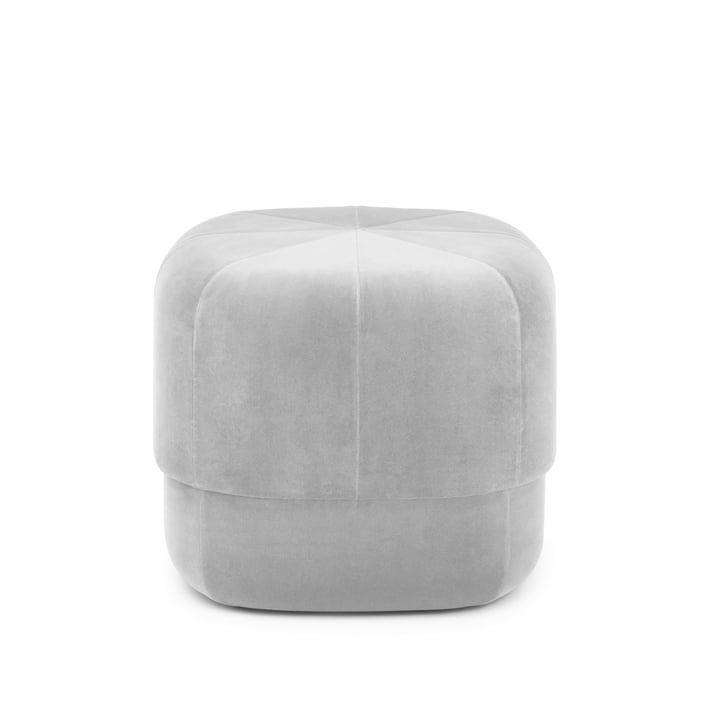 The Circus Pouf small from Normann Copenhagen , beige velour