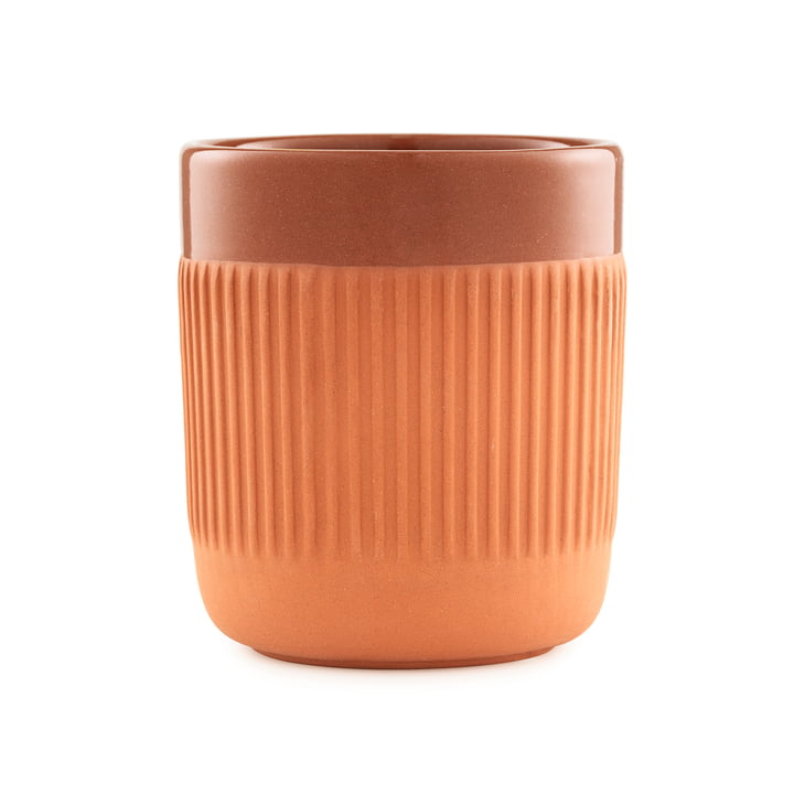 The Junto mug from Normann Copenhagen , 240 ml, terracotta
