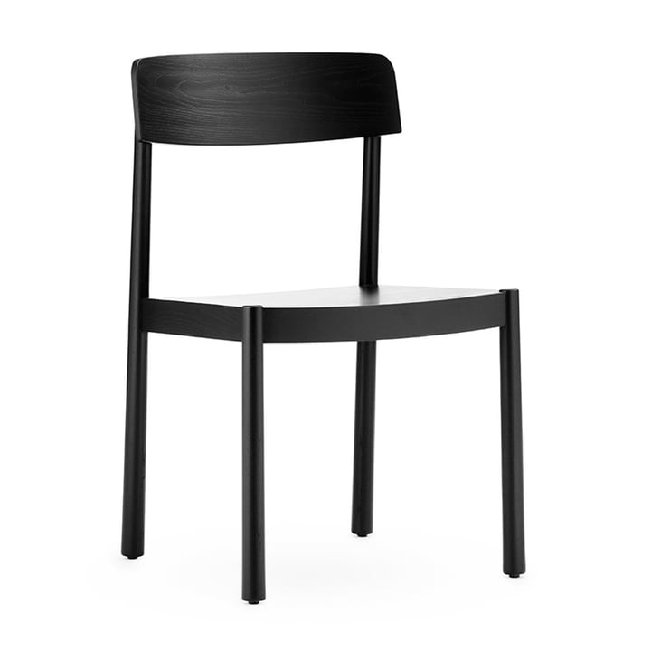 The Timb chair from Normann Copenhagen in black
