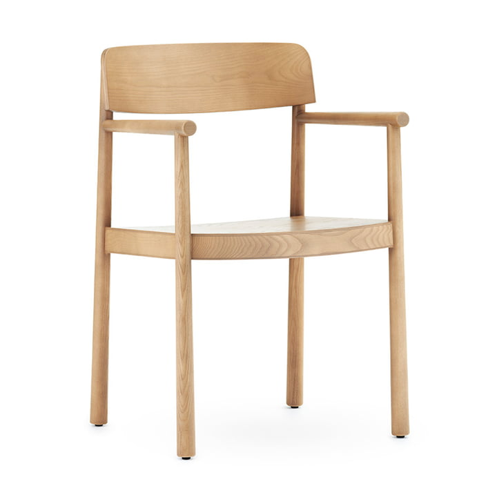 The Timb armchair from Normann Copenhagen in nature