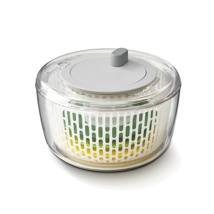 The bowl of the Multi-Prep salad preparation set from Joseph Joseph contains all the parts