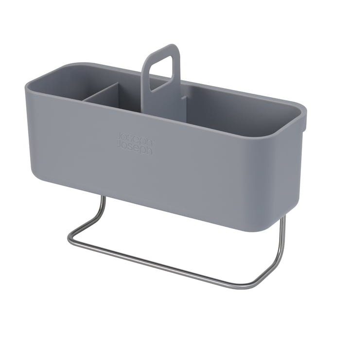 The DoorStore dishwasher organiser for the cupboard from Joseph Joseph in grey