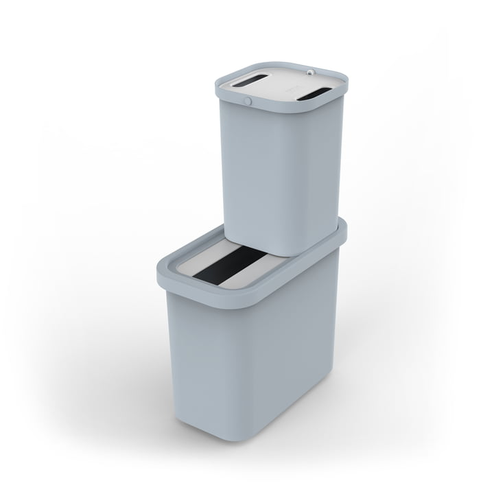 The GoRecycle recycling bin with Caddy set from Joseph Joseph , 46 l