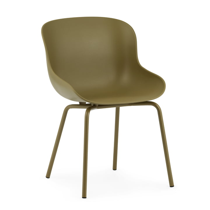 The Hyg Chair from Normann Copenhagen in olive