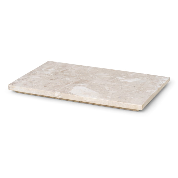 The tray for the Plant Box by ferm Living made of marble
