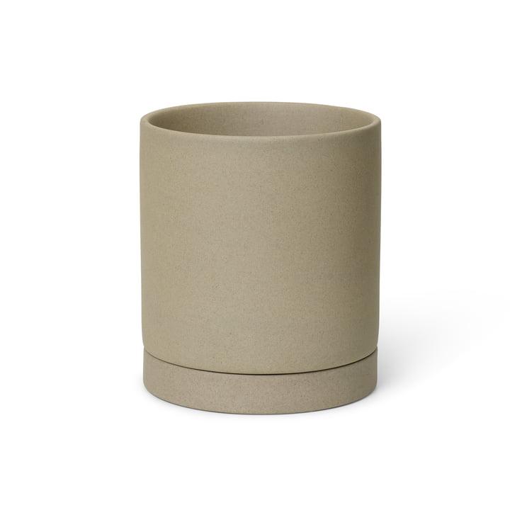 The Sekki Pot from ferm Living in medium, sand