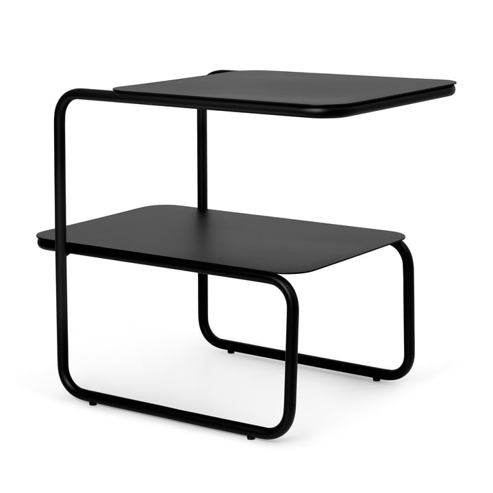 The Level side table by ferm Living in black