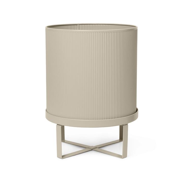 The Bau Plant pot by ferm Living in cashmere, Ø 28 x H 38 cm
