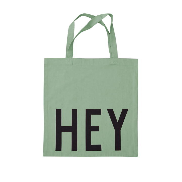 AJ Favourite Carrying bag, Hey / green from Design Letters