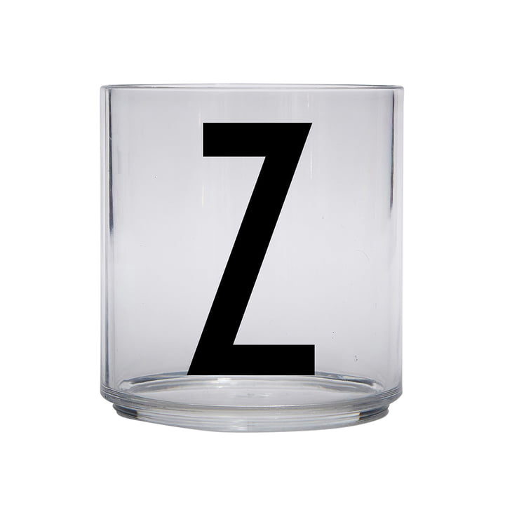 The AJ Kids Personal drinking glass from Design Letters , Z