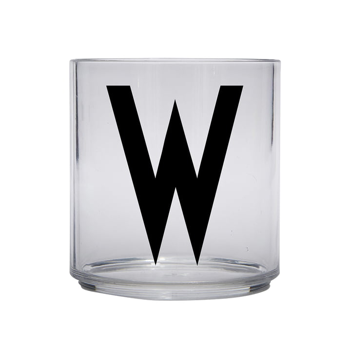 The AJ Kids Personal drinking glass from Design Letters , W