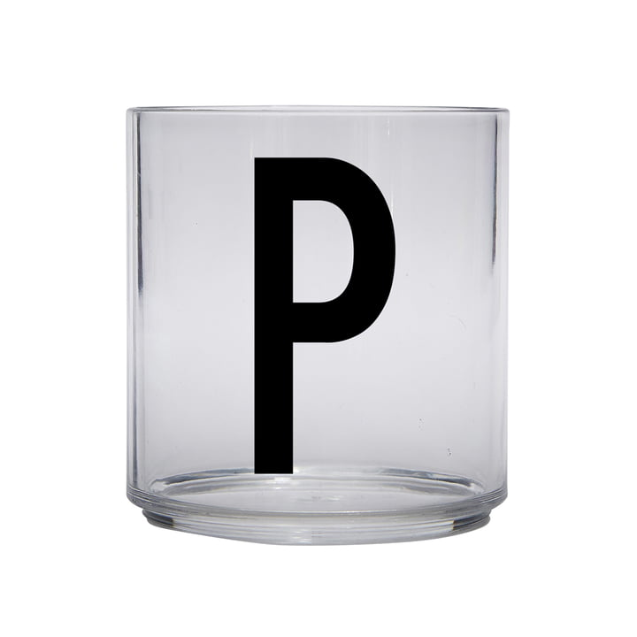 The AJ Kids Personal drinking glass from Design Letters , P