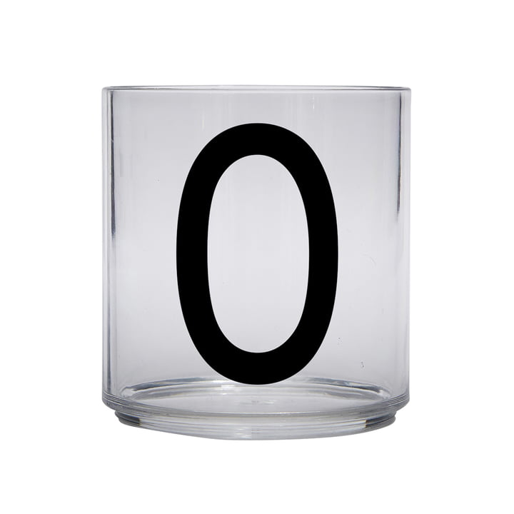 The AJ Kids Personal drinking glass from Design Letters , O