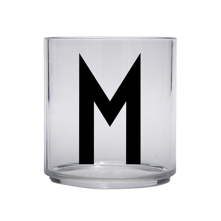 The AJ Kids Personal drinking glass from Design Letters , M