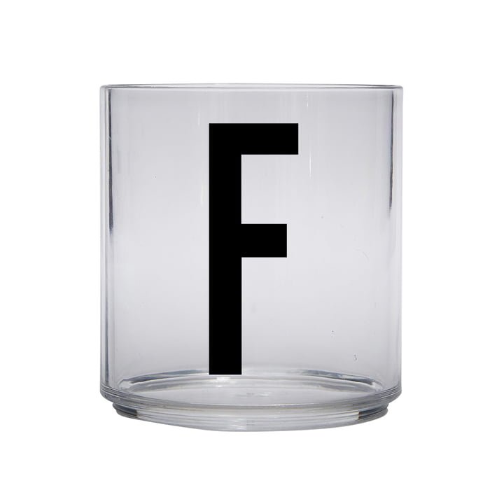 The AJ Kids Personal drinking glass from Design Letters , F