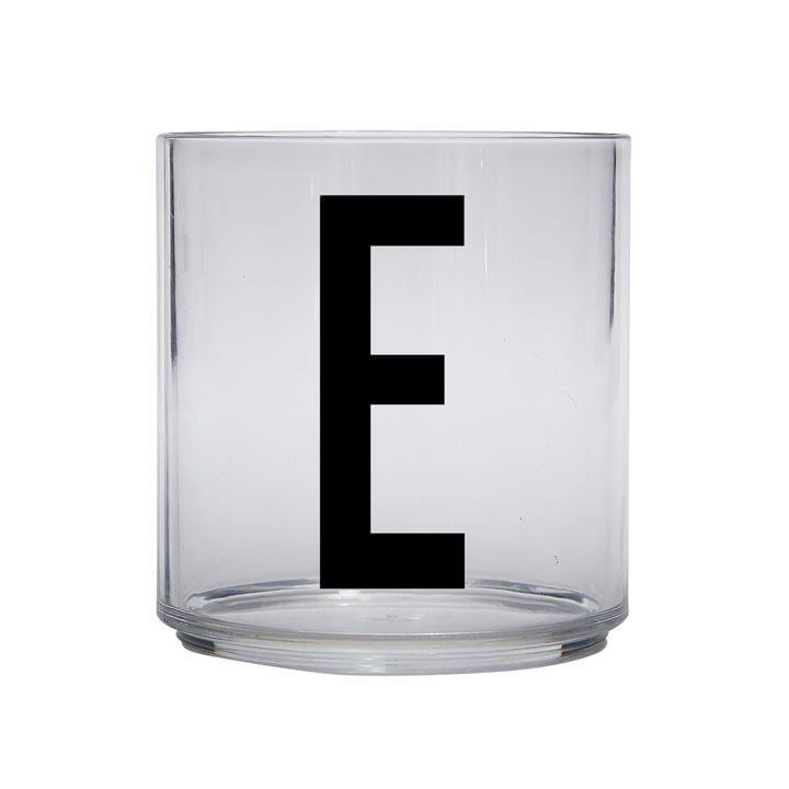 The AJ Kids Personal drinking glass from Design Letters , E
