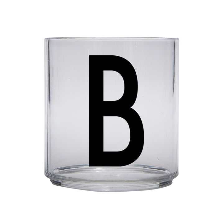 The AJ Kids Personal drinking glass from Design Letters , B