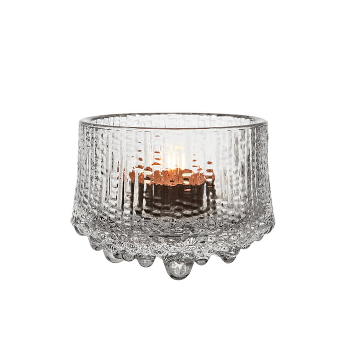 The Ultima Thule tealight holder from Iittala , 65 mm, clear