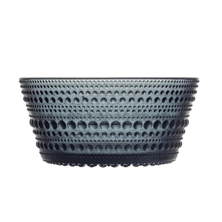 The Kastehelmi Bowl from Iittala , 0,23 l, dark grey