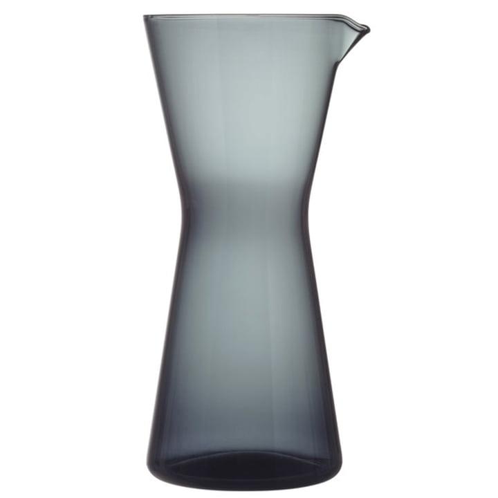 The Kartio Carafe from Iittala , 95 cl, dark grey