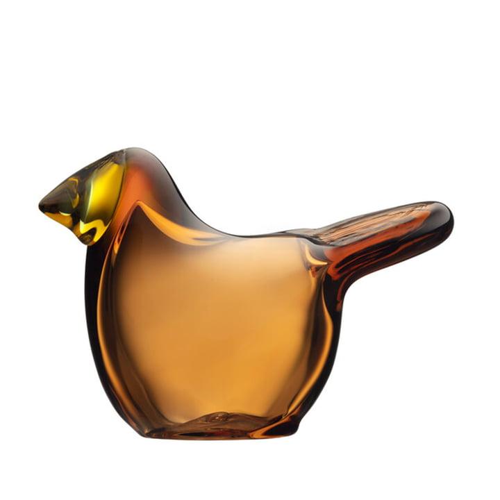 The Birds by Toikka Flycatcher from Iittala in copper / lemon