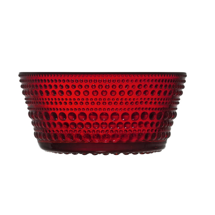 The Kastehelmi Scarf from Iittala , 0,23 l, cranberry red