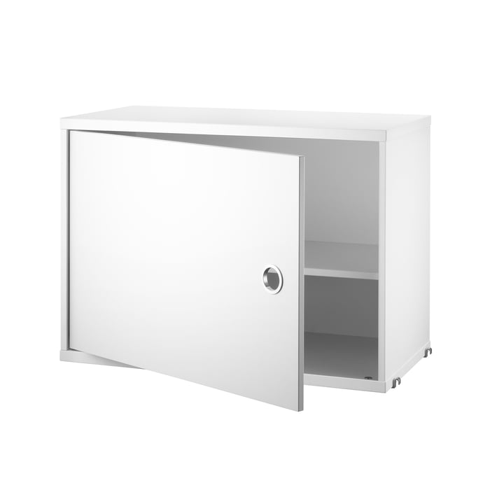 Cabinet module with door, 58 x 30 cm, white from String