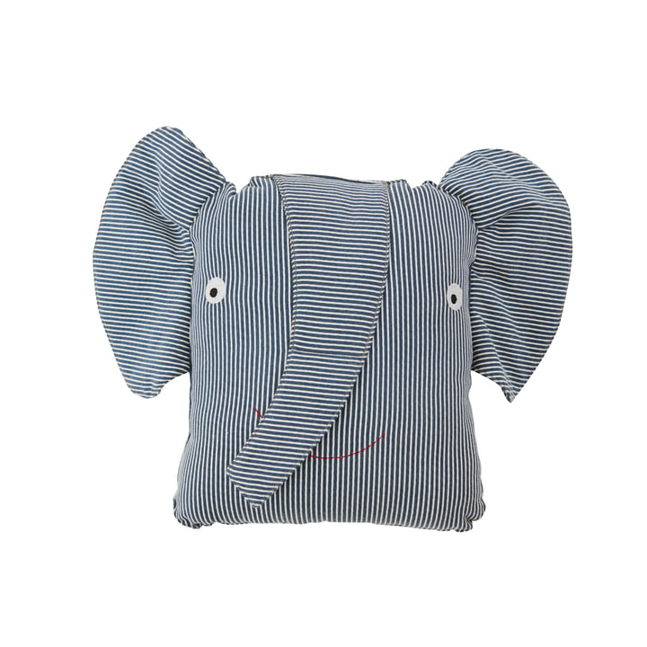 The Denim children's pillow from OYOY , Erik Elefant