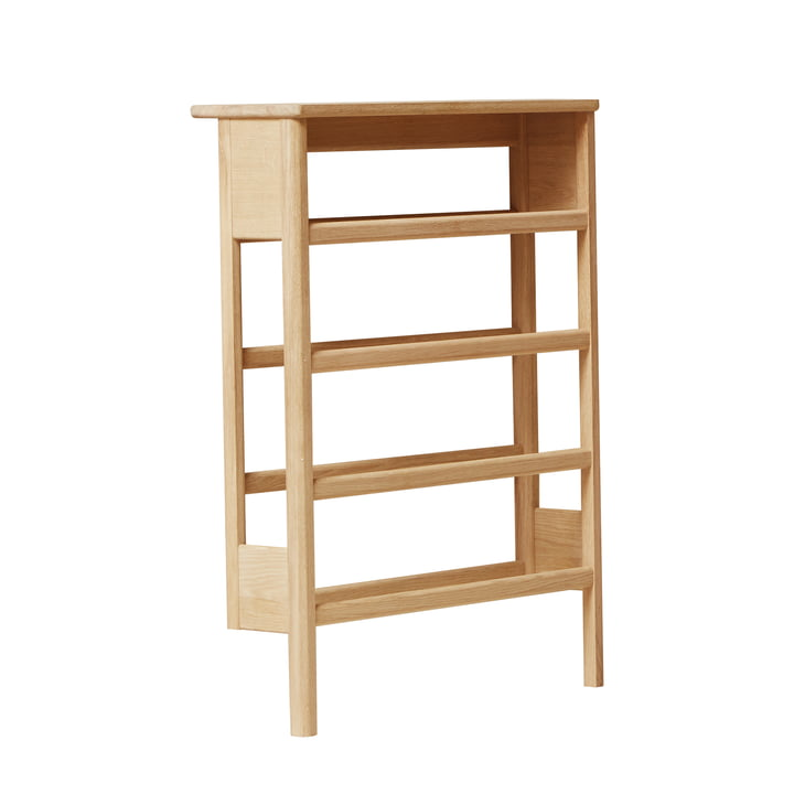 A Line Shoe rack, oak from Form & Refine