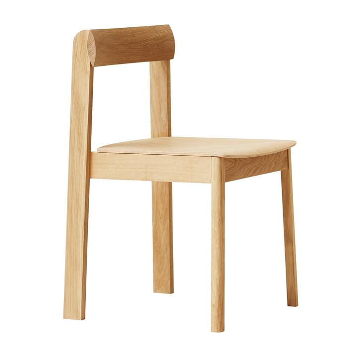Blueprint Chair, oak white pigmented by Form & Refine