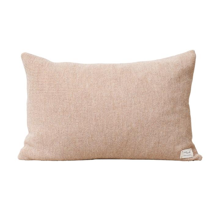 Aymara Cushion, 62 x 42 cm, rib light brown from Form & Refine