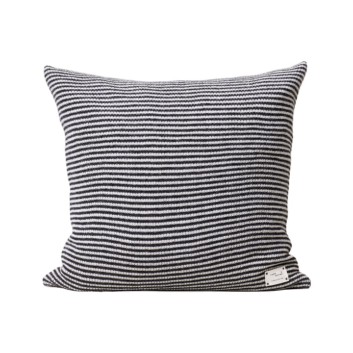 Aymara Cushion, 52 x 52 cm, rib patterned with stripes from Form & Refine