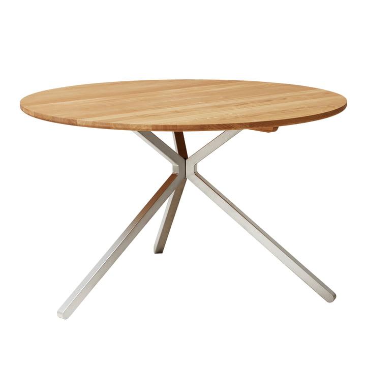 Frisbee Table, Ø 120 cm, oak from Form & Refine