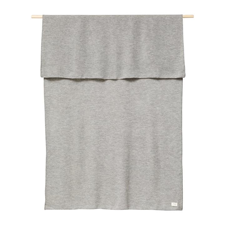 Aymara Blanket, 130 x 190 cm, plain grey from Form & Refine