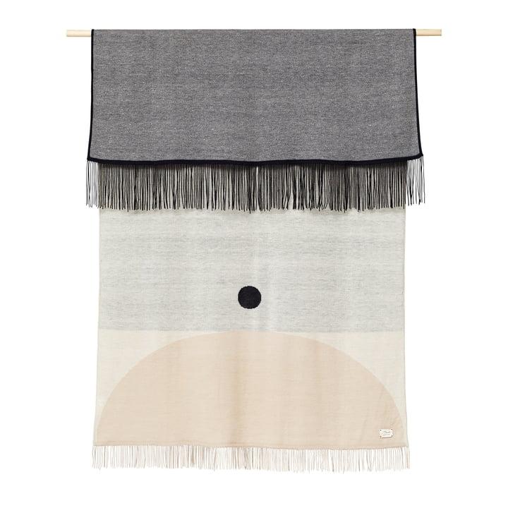Aymara Blanket, 130 x 190 cm, patterned cream from Form & Refine