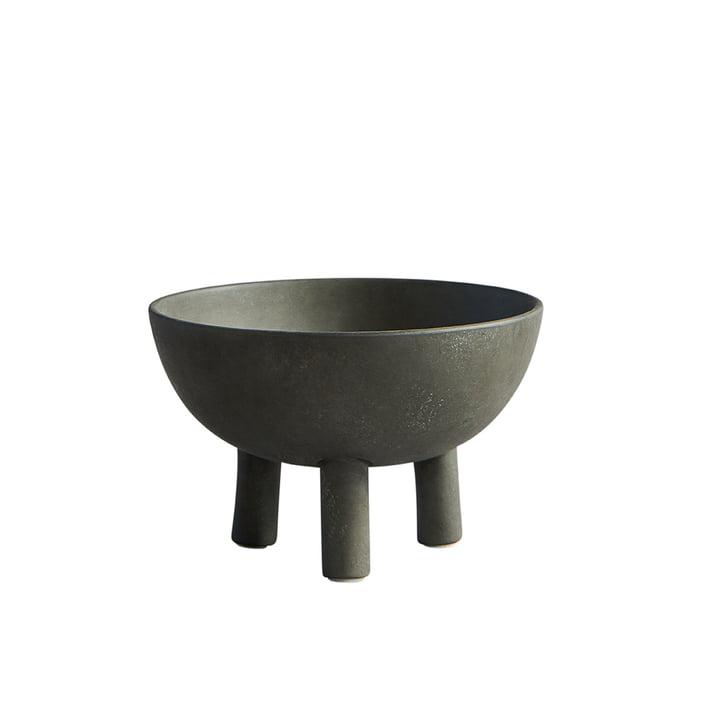 The Duck bowl from 101 Copenhagen, large, dark grey