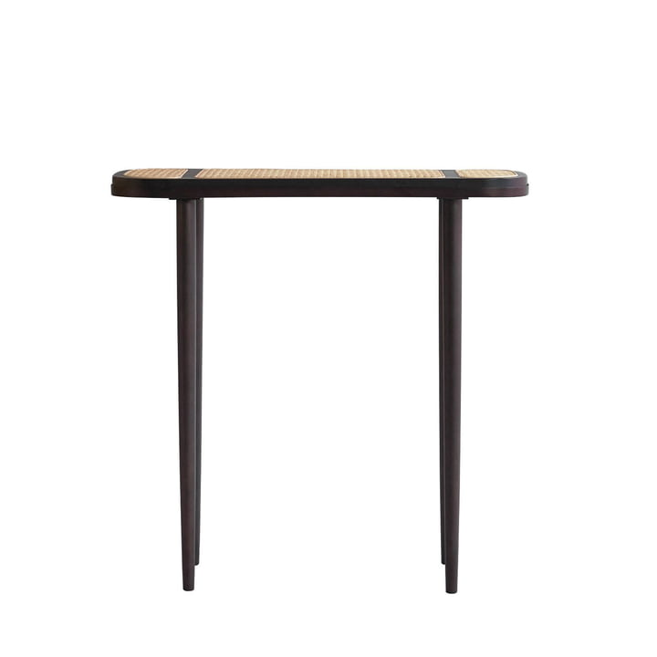 The Hako Console table from 101 Copenhagen, 80 x 30 cm, burned black